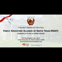 Ribbon Cutting: Family Educators Alliance of South Texas (FEAST)