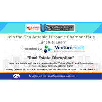 "Lunch & Learn: ""Real Estate Disruption"" Presented By VenturePoint"