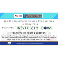 Lunch & Learn: Benefits of Team Building Presented by University Bowl