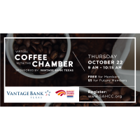 Virtual Coffee With The Chamber: October 2020