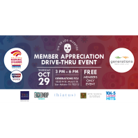 Dia de Los Muertos Member Appreciation Drive-Thru Event, Presented by Generations FCU