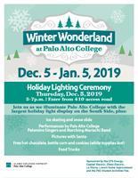 Winter Wonderland at Palo Alto College