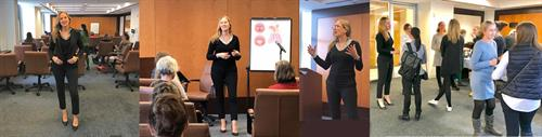 "Melina's 'Women in Business' Workshop - ""FINDING YOUR VOICE"""