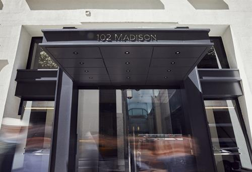 102 Madison Avenue Entrance - come visit on 10. Floor