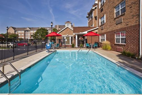 Sasonal Outdoor Pool with patio and year-round grill.