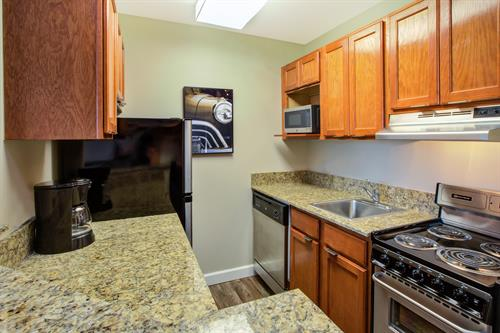 Fully Equipped Kitchen in every suite.