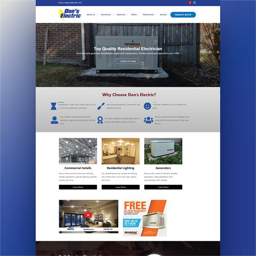 Electrician Websites