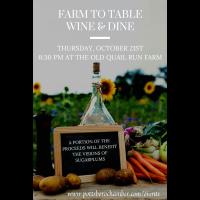 2021 Farm To Table Dinner