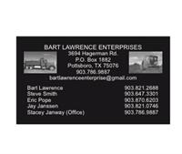 Bart Lawrence Enterprises
