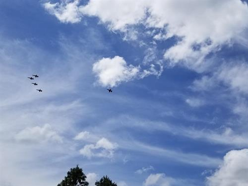 The Blue Angels flyover 5-15-2020
