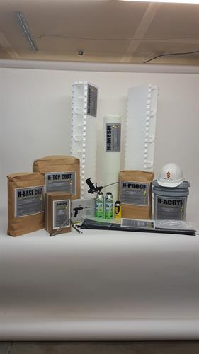 H-Forms complete Wall-Building System. Everything you need for your walls.