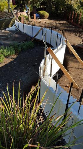 Flood/Privacy Wall, Petaluma, CA