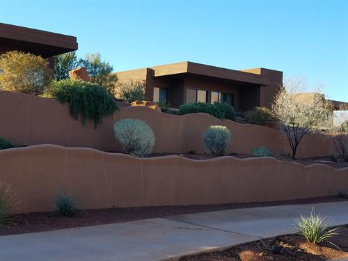 Retaining & Privacy Wall, St. George, UT