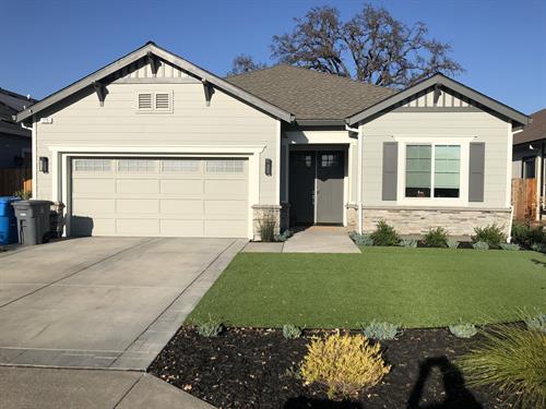 Built - Willowgreen Dr. Santa Rosa CA - Traditional - 1,600 sf. Greatroom 3br 2 1/2ba.