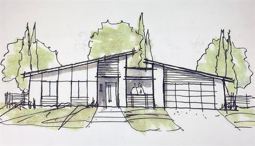 In Design - Paradise CA - Contemporary - 1,200 sf. Greatroom 3br. 2ba. (Up to 1,700  sf. 5br. 2ba. House)