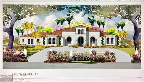 In Design - Hill Rd. Sonoma County CA,- 6,500 sf. Greatroom, Bonus Room, Office, Gym, 4br. 5ba.