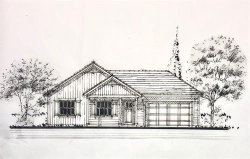In Design - Paradise CA - Farmhouse - 995 sf. Greatroom, 2br. 2ba.