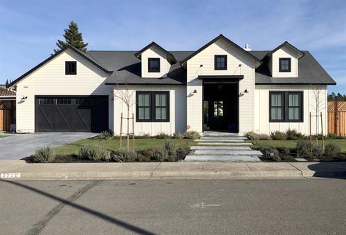 Built - Lakebrier Dr. Santa Rosa CA - Farmhouse - 2,200 sf. Greatroom 3br. + Office. 2 1/2 ba. (Custom)