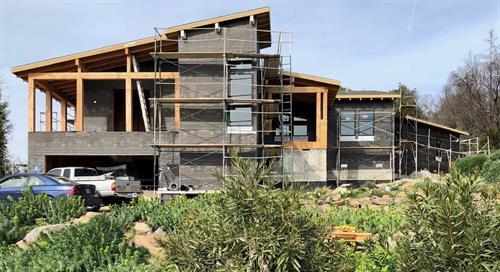 Under Construction - Chrystal Dr. Sonoma Co. - 3,500 sf. Greatroom, Living Room, 4br. Office, 4ba.