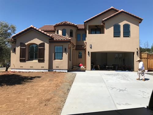 Built - Wedgewood Way Santa Rosa CA - 2,800 sf. Greatroom 5br. 3 1/2ba.