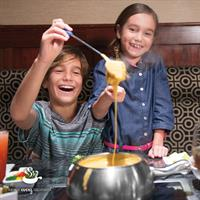Fondue for the whole family.