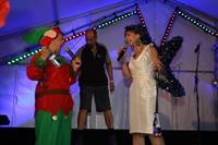 Emceeing Carols at Cotton Tree, Sunshine Coast to an audience of 4000