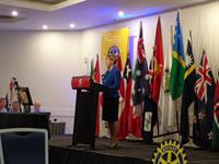 Emcee at Rotary International Conference