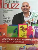 Aon featured for CSR in Jan 2015 edition of Buzz