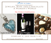 A Woman's World: Jewelry, Wine, and Chocolate