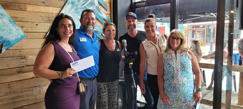 Ormond Chamber Business After Hours - new agent Amaya won!