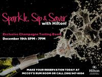 Hilton December Champagne Tasting