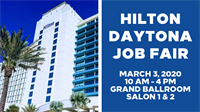 Hilton Daytona Job Fair
