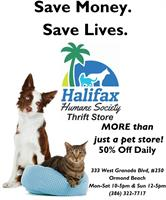 Halifax Humane Society Thrift Store - Ormond Beach