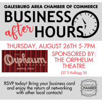 Business After Hours - The Orpheum Theatre