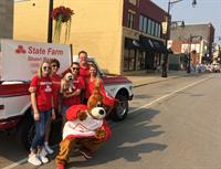 Supporting the Galesburg community in the Labor Day Parade 2017