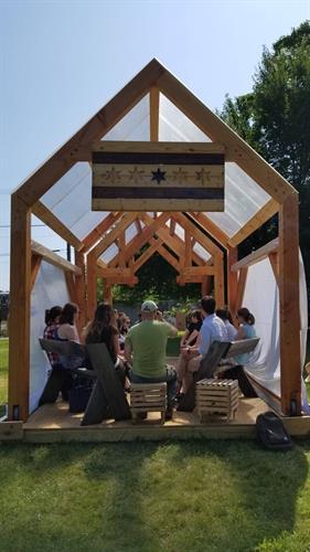 Nesting Timber Frame in Chicago