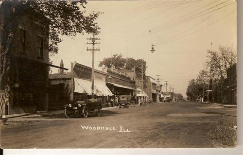 Our Woodhull office in 1918