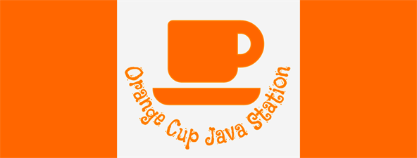 Orange Cup Java Station