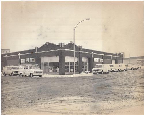Old MSI Building - Corner of S. Kellogg St & E. Tompkins St