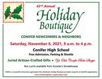 Daddy's Homemade at Conifer Holiday Boutique Nov 6th!