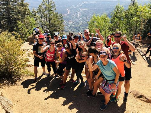 5th annual Manitou Incline climb!