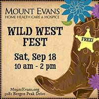 Mount Evans Home Health Care & Hospice Wild West Fest