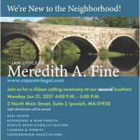 Law Office of Meredith A. Fine Ribbon Cutting Ceremony