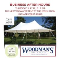 Business After Hours and Ribbon Cutting at The Essex Room's New Tidewater Tent