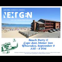 Next Gen End of Summer Beach Party