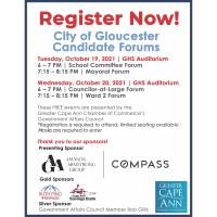 City of Gloucester Councilor At-Large Candidate Forum