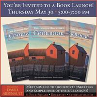 Inns of Rockport Cookbook Book Launch Reception