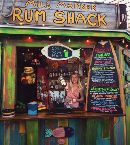 Rum Shack at Mile Marker One onsite