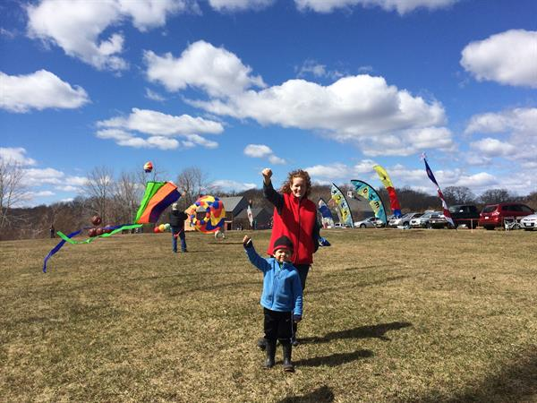 Kite Day at Cogswell's Grant