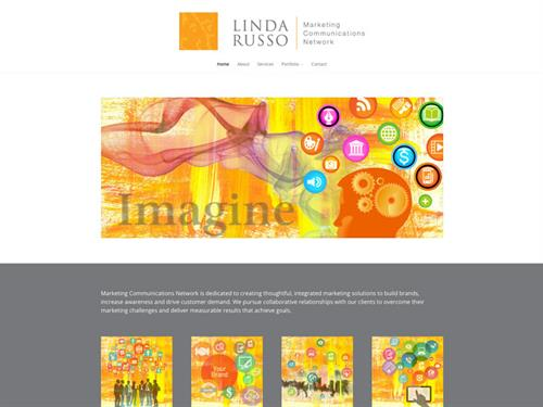 Linda Russo Marketing Communications Network website design & development